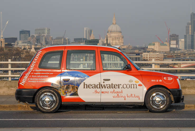 2014 Ubiquitous campaign for Headwater Holidays - The More Relaxed Activity Holiday