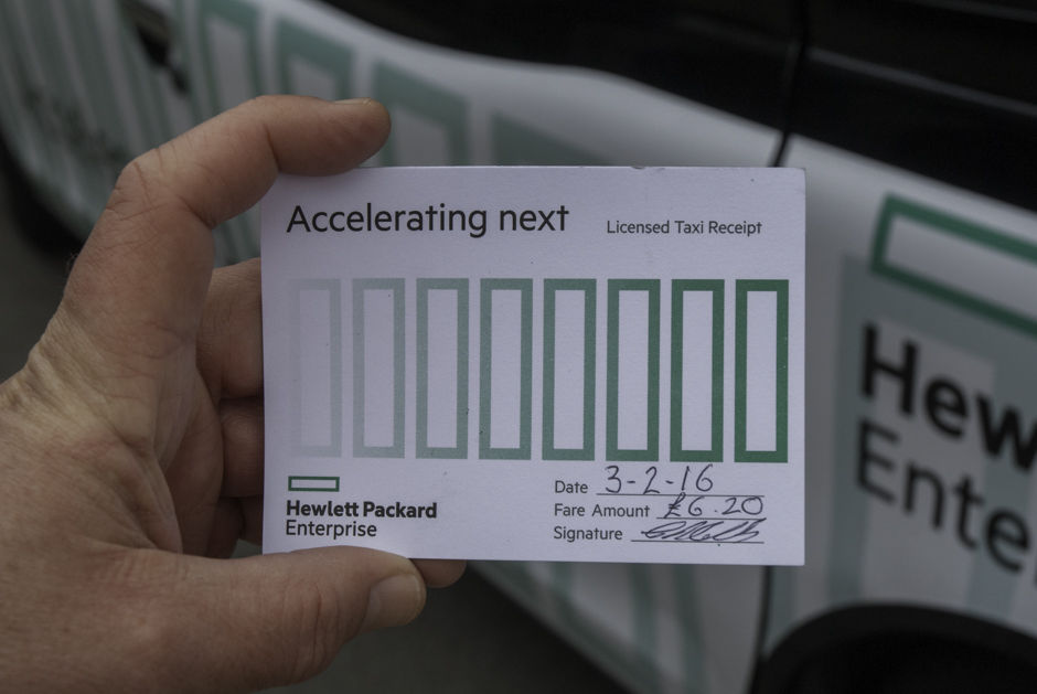 2016 Ubiquitous campaign for Hewlett Packard  - Accelerating Next