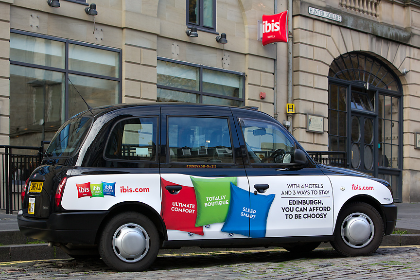 2014 Ubiquitous campaign for ibis - With 4 Hotels & 3 Ways to Stay
