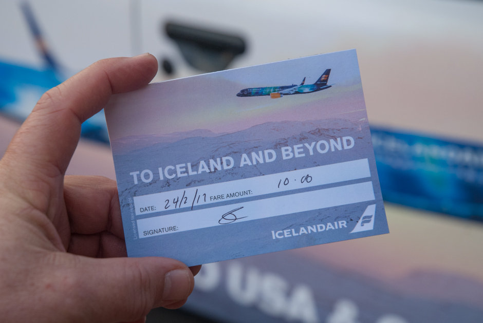 2017 Ubiquitous campaign for Icelandair - TO ICELAND AND BEYOND