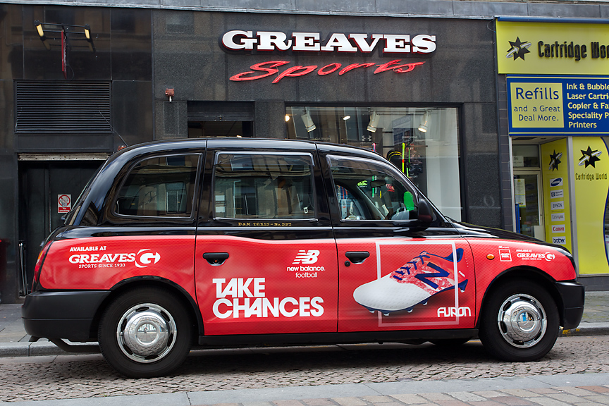 2015 Ubiquitous campaign for New Balance - Take Chances