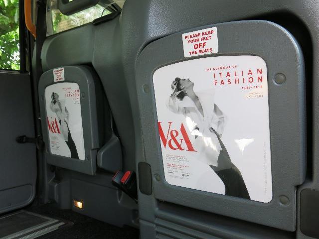 2014 Ubiquitous campaign for V&A - The Glamour of Italian Fashion