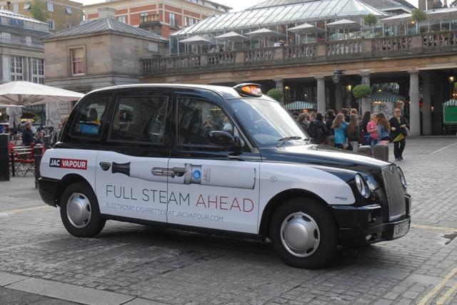 2014 Ubiquitous campaign for JAC Vapour - Full Steam Ahead
