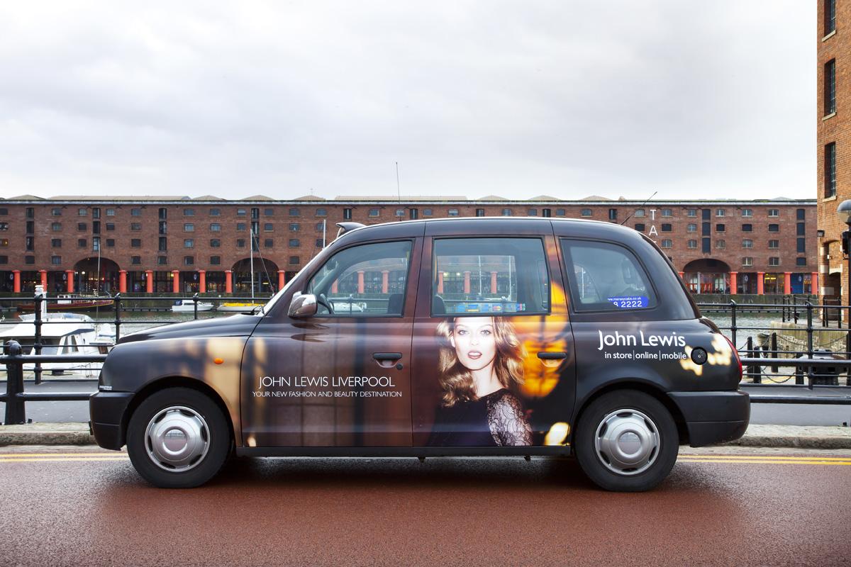 2015 Ubiquitous campaign for John Lewis - Your New Fashion And Beauty Destination