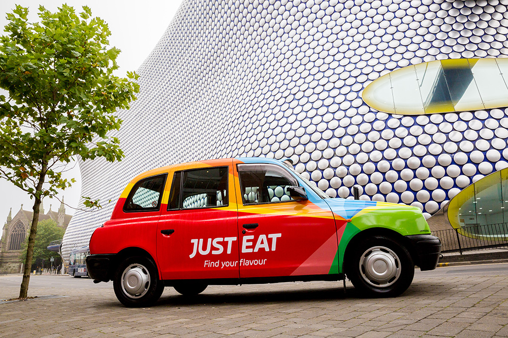 Just Eat 2016 Campaign Find Your Flavour Regional