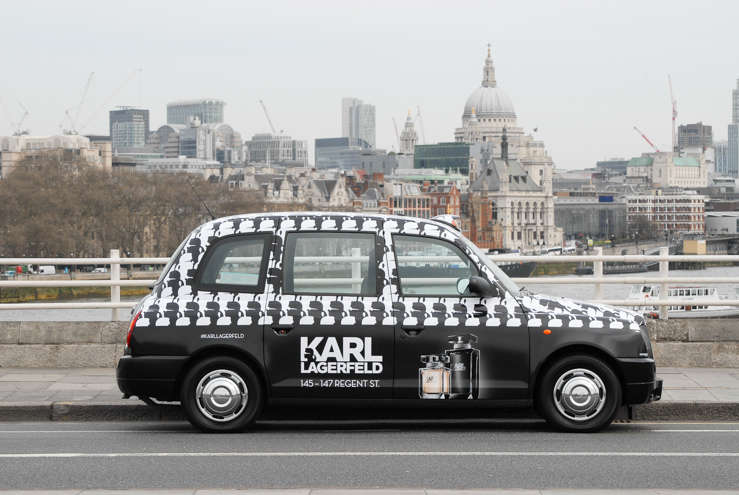 2014 Ubiquitous campaign for Karl Lagerfeld - 145-147 Regents Street