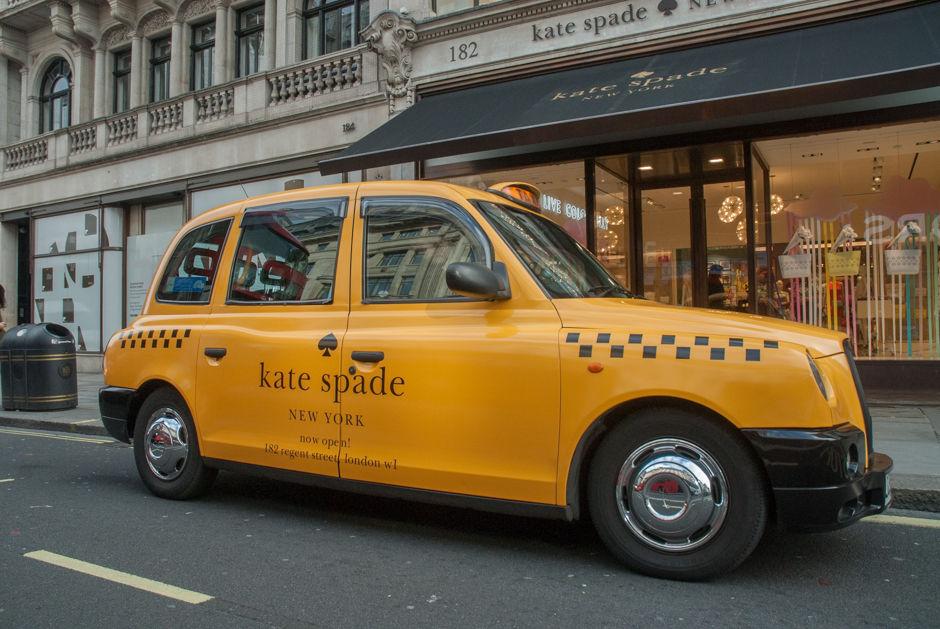 2016 Ubiquitous campaign for Kate Spade - Now Open - 182 Regent Street, London, W1