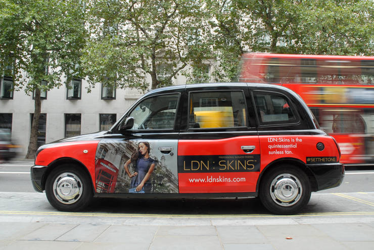 2014 Ubiquitous campaign for LDN Skins - LDN Skins is the quintessential sunless tan