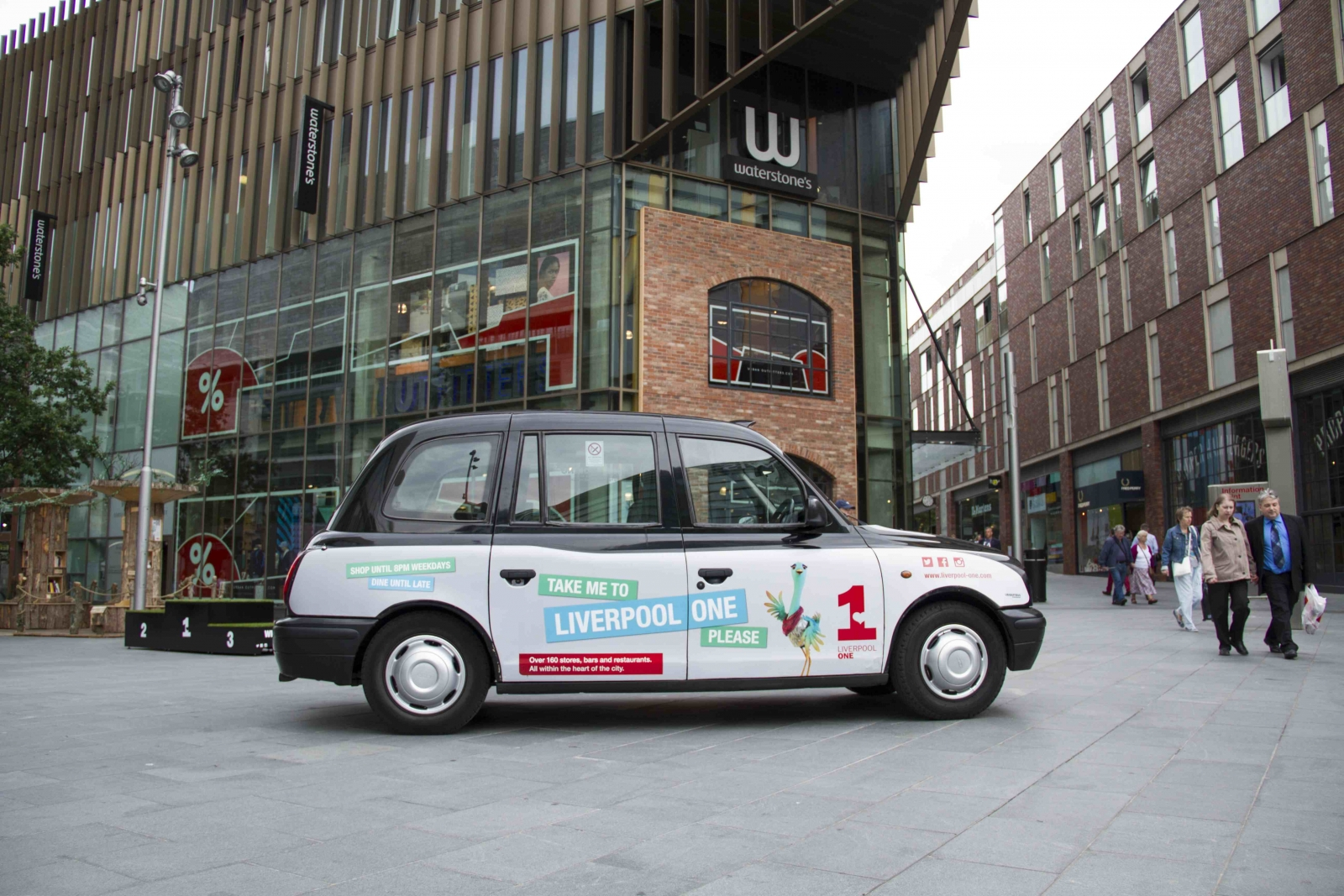 2014 Ubiquitous campaign for Liverpool One - Take Me To Liverpool One Please