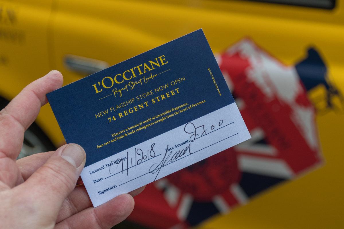 2018 Ubiquitous campaign for L'Occitane en Provence - New Flagship Store Now Open - 74 Regent Street