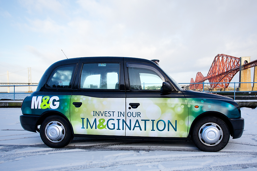 2018 Ubiquitous campaign for M&G - Invest In Our Imagination