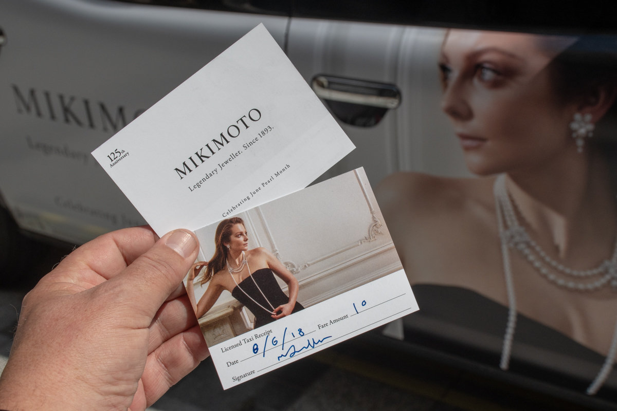 2018 Ubiquitous campaign for Mikimoto - Legendary Jeweller Since 1893