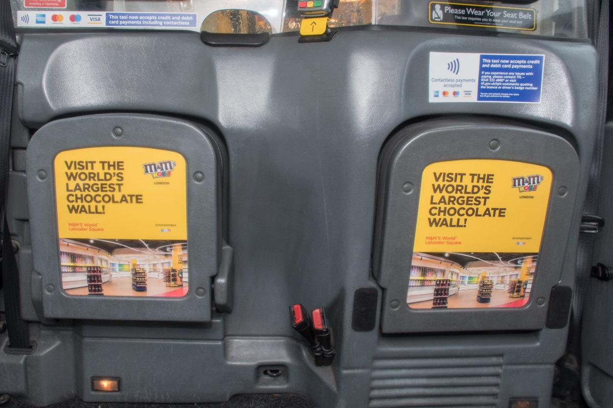 2018 Ubiquitous campaign for M&M's - M&M'S WORLD LEICESTER SQUARE