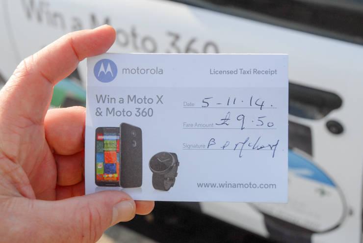 2014 Ubiquitous campaign for Motorola - Design and Win a Moto X & Moto 360