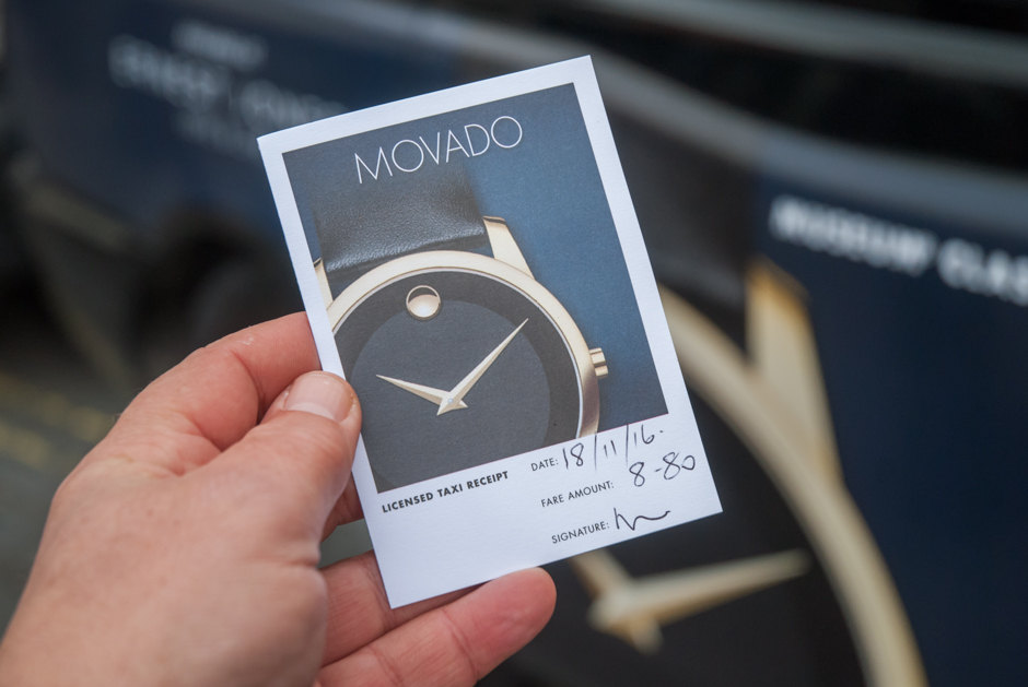 2016 Ubiquitous campaign for Movado Watches - Swiss Heritage, Modern Design