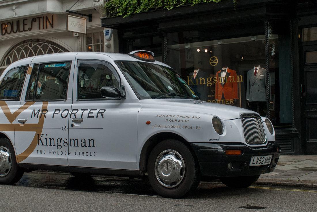 2017 Ubiquitous campaign for Mr Porter - Mr Porter Kingsman: The Golden Circle