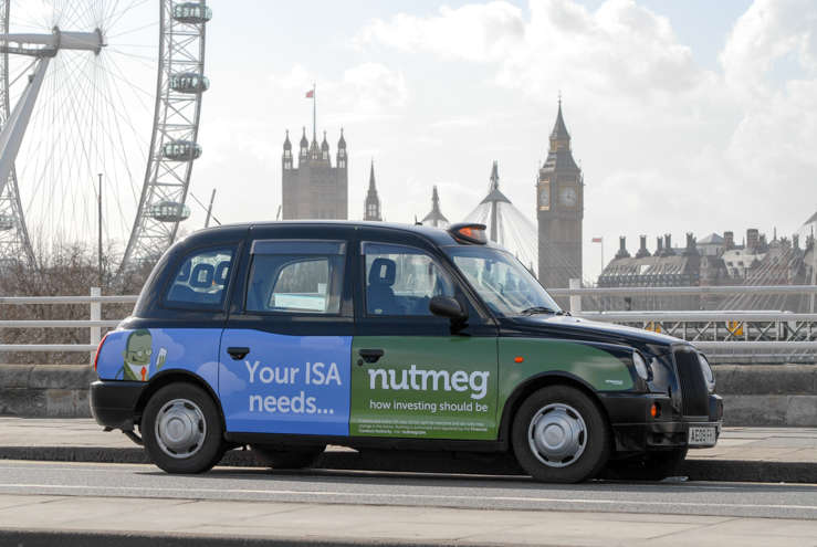 2014 Ubiquitous campaign for Nutmeg - Your ISA needs Nutmeg