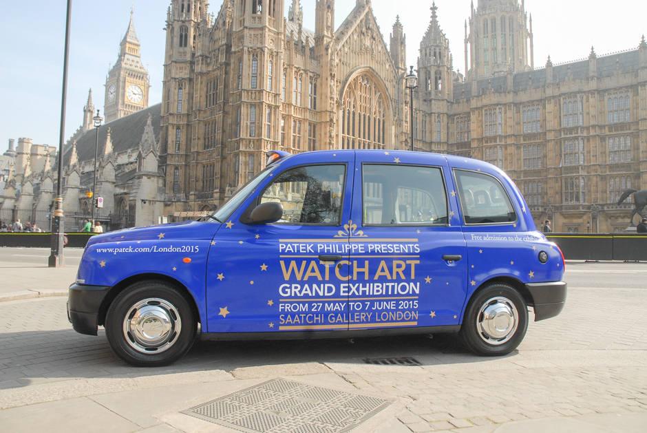 2015 Ubiquitous campaign for Patek Phillippe - Watch Art Grand Exhibition
