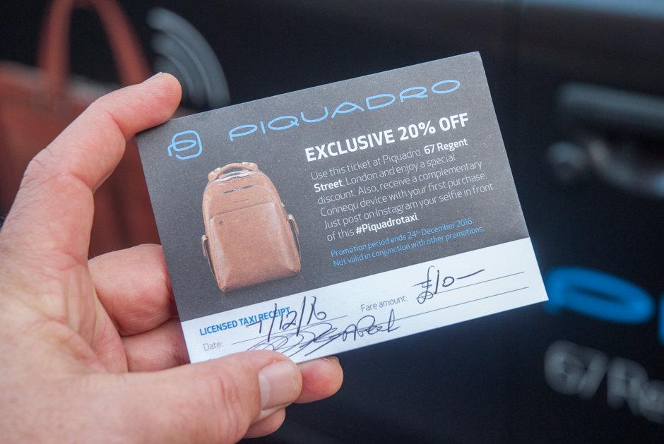 2016 Ubiquitous campaign for Piquadro  - Connect Your Bag