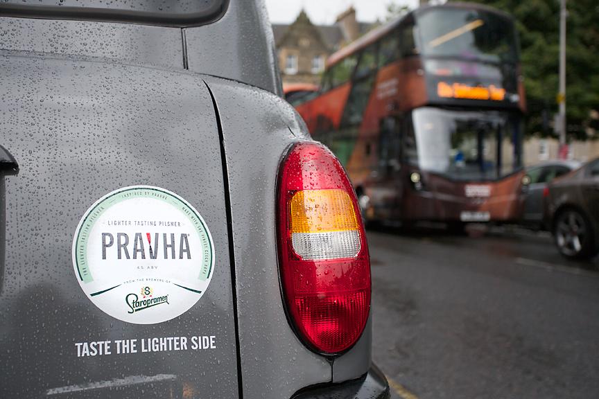 2017 Ubiquitous campaign for Prahva Beer - Taste The Lighter Side