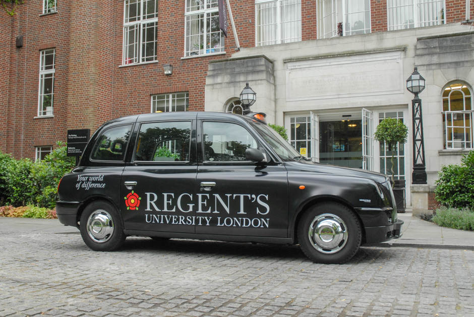 2015 Ubiquitous campaign for Regents University London - Your World Of Difference