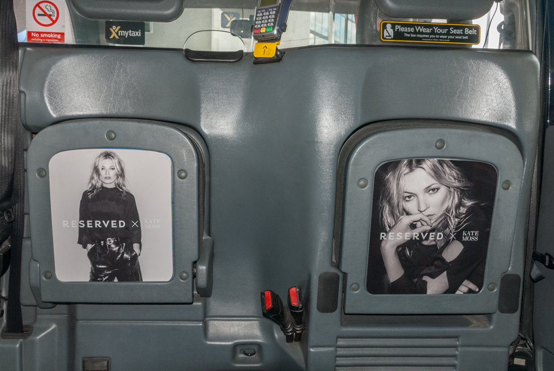2017 Ubiquitous campaign for Reserved - Reserved x Kate Moss