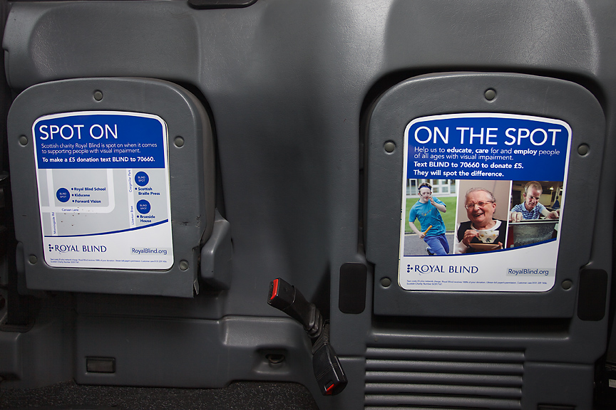 2014 Ubiquitous campaign for Royal Blind - Seeing Past Blindness