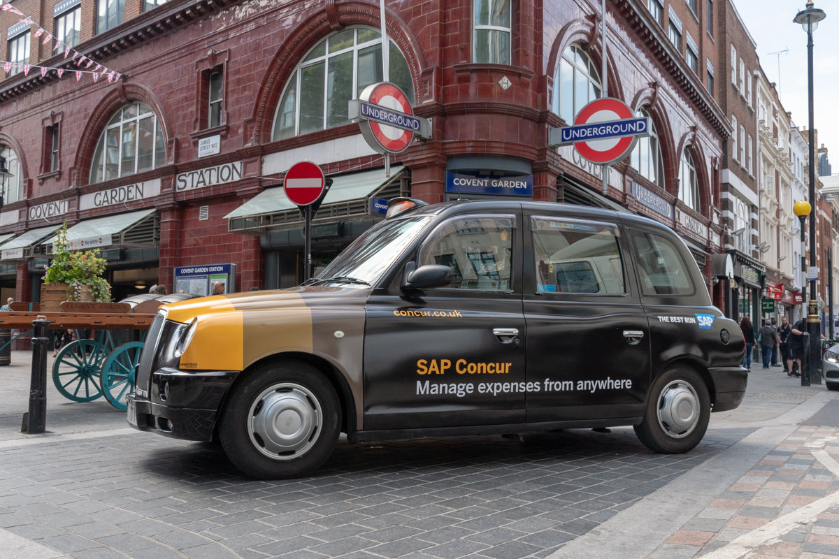 2018 Ubiquitous campaign for SAP Concur - Manage Expenses From Anywhere
