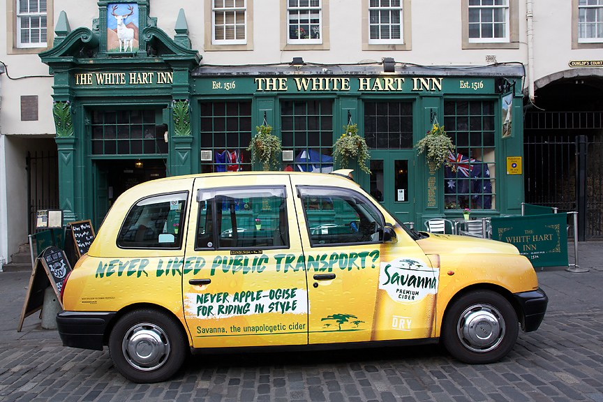 2017 Ubiquitous campaign for Savanna Premium Cider - Never Apple-Ogise For Riding In Style