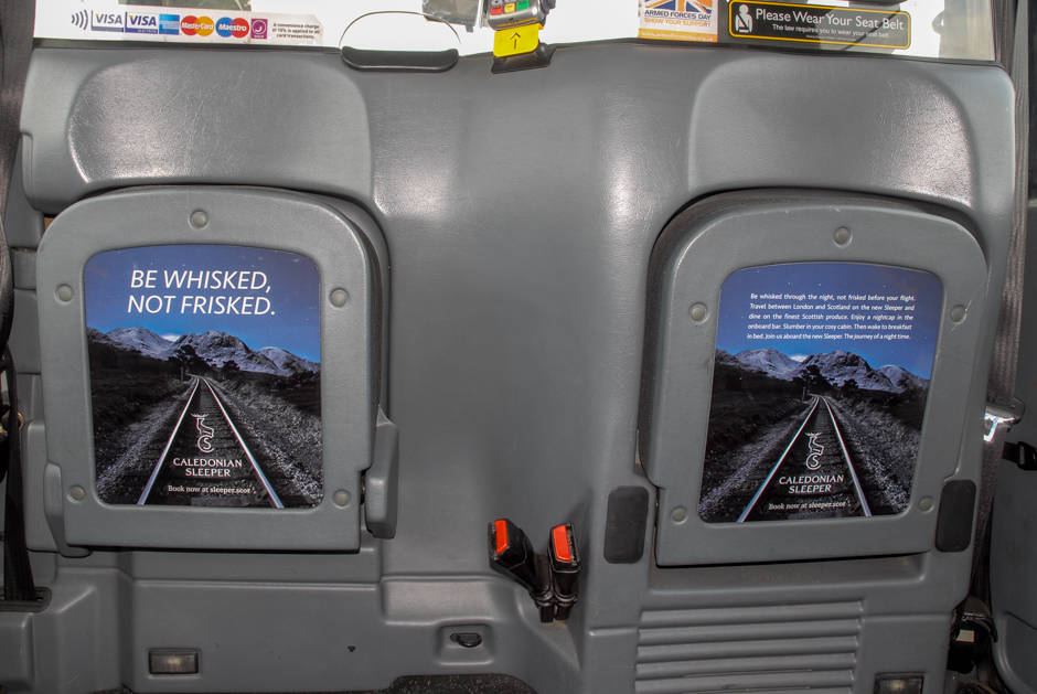 2015 Ubiquitous campaign for Serco Caledonian Sleeper - Be Whisked, Not Frisked!