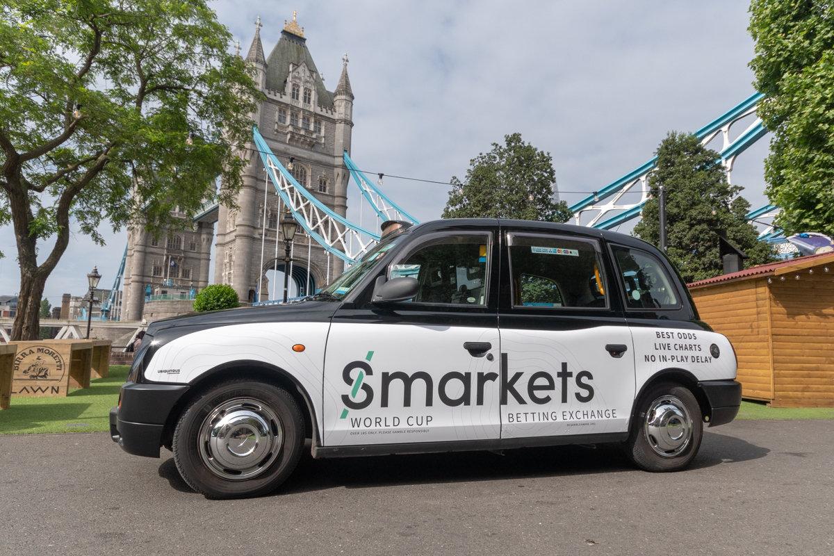 2018 Ubiquitous campaign for SMARKETS  - Betting Exchange