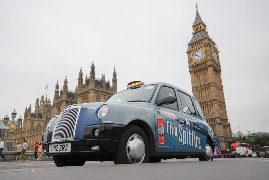 2015 Ubiquitous campaign for Spitfire - Fly A Sptifire