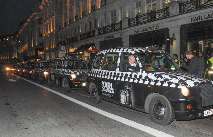 Karl Lagerfeld Taxis