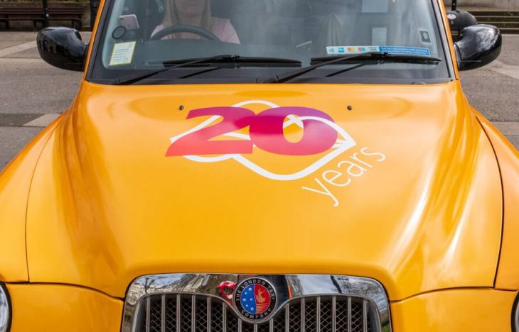 Avanade taxi advertising