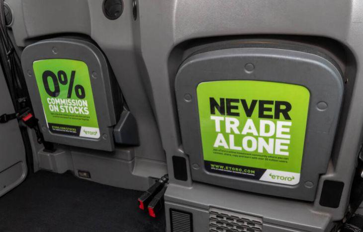 eToro TipSeat Taxi Campaign