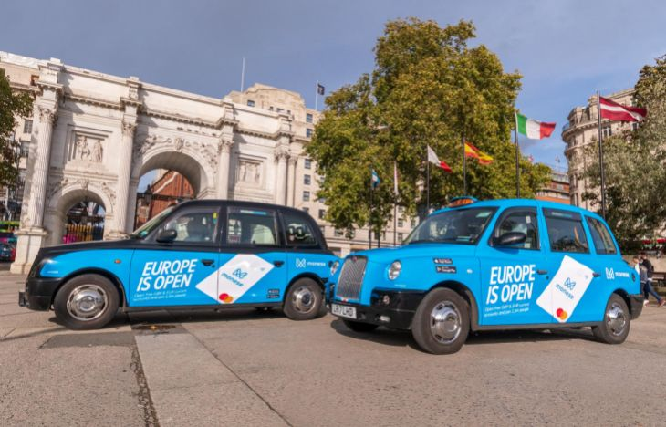Taxi Advertising London Monese