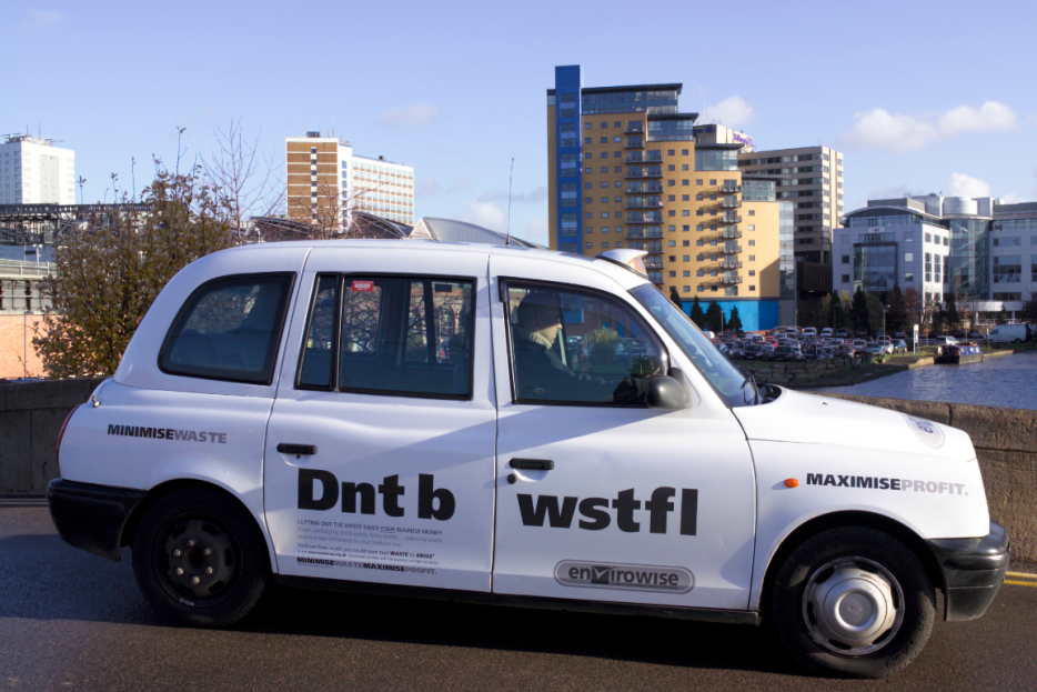 2007 Ubiquitous taxi advertising campaign for Envirowise - Various