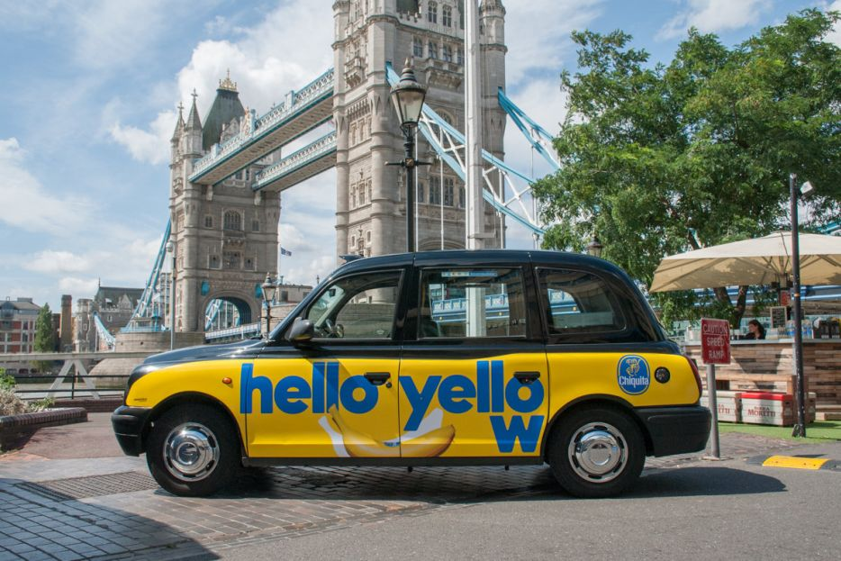 2017 Ubiquitous campaign for Chiquita Bananas - Hello Yellow
