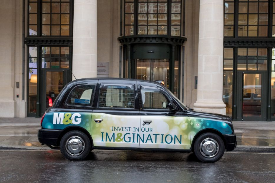 2017 Ubiquitous campaign for M&G - Invest In Your Im&gination