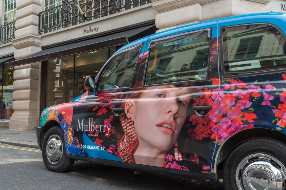 2018 Ubiquitous campaign for Mulberry - 100 Regent Street