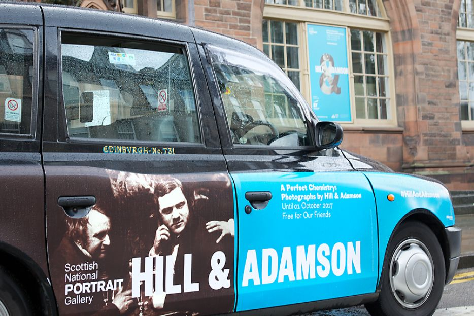 2017 Ubiquitous campaign for National Galleries of Scotland - Hill & Adamson