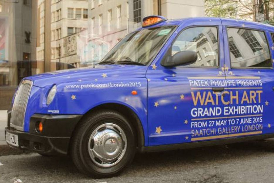 Patek Philippe livery taxi