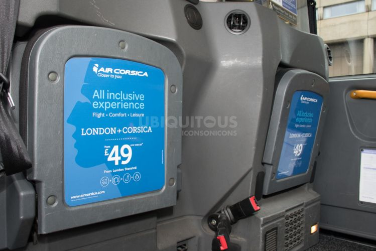 2018 Ubiquitous campaign for AIR CORSICA - LONDON TO CORSICA