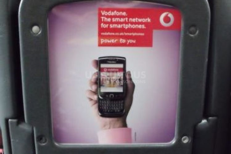 2010 Ubiquitous taxi advertising campaign for Vodafone - The Smart Network For Smart Phones