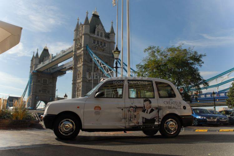 2010 Ubiquitous taxi advertising campaign for Stella Artois - Les Créateurs De Beauté
