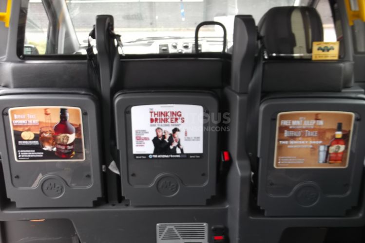 2013 Ubiquitous taxi advertising campaign for Hi Spirits - Hi Spirits
