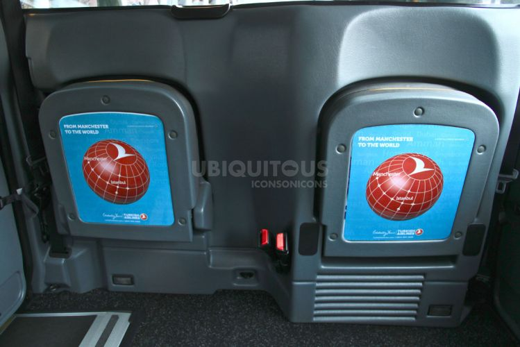 2012 Ubiquitous taxi advertising campaign for Turkish Airlines - Passengers Portraits