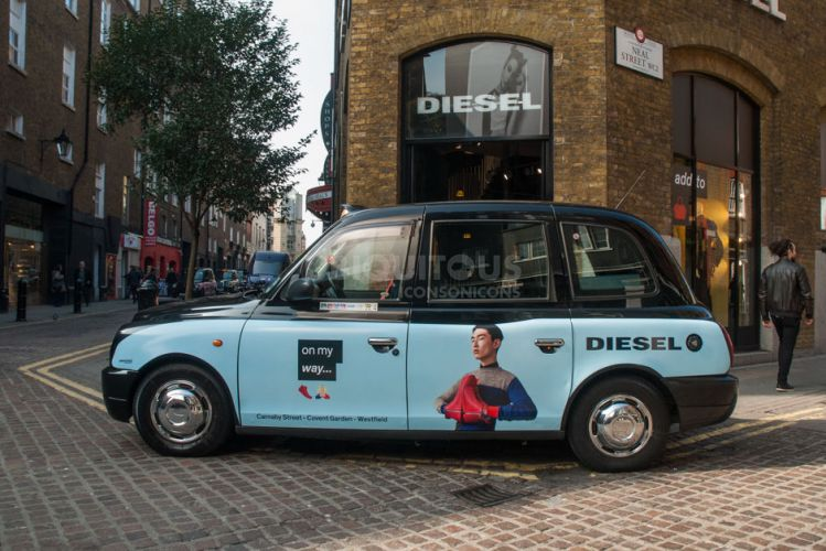 2016 Ubiquitous campaign for Diesel - Carnaby Street - Covent Garden - Westfield
