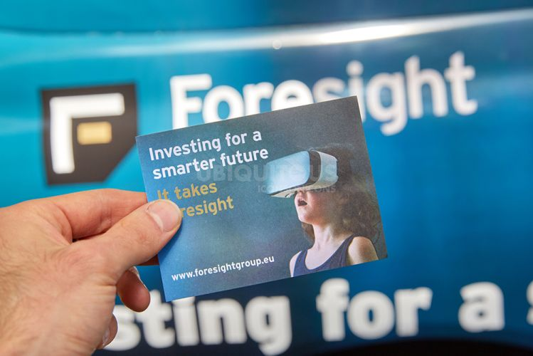 2017 Ubiquitous campaign for Foresight Group - Investing For A Smarter Future, It Takes Foresight