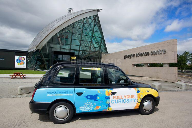 2016 Ubiquitous campaign for Glasgow Science Centre - Fuel Your Curiosity